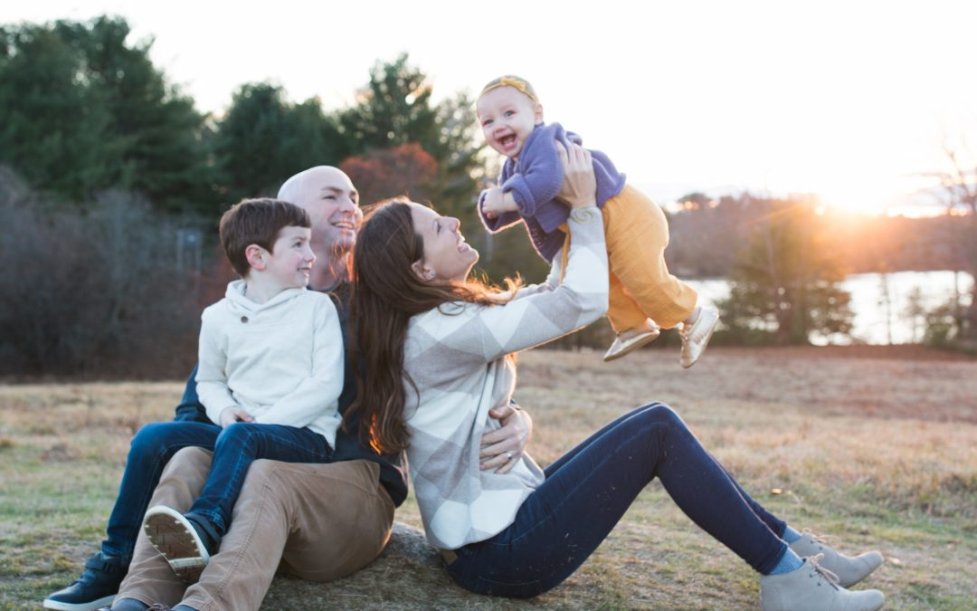 NEW HAMPSHIRE FAMILY PHOTOGRAPHER | PARRISH FAMILY